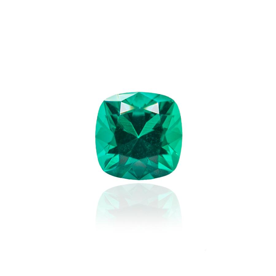 колумбийский изумруд emerald огранка кушон