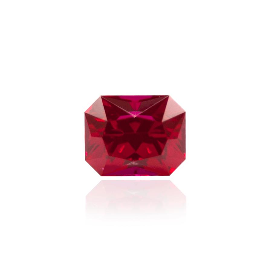 гидротермальный выращенный рубин ruby корунд огранка радиант октагон огранка принцесса
