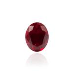 гидротермальный выращенный рубин голубиная кровь dark ruby корунд огранка принцесса овал