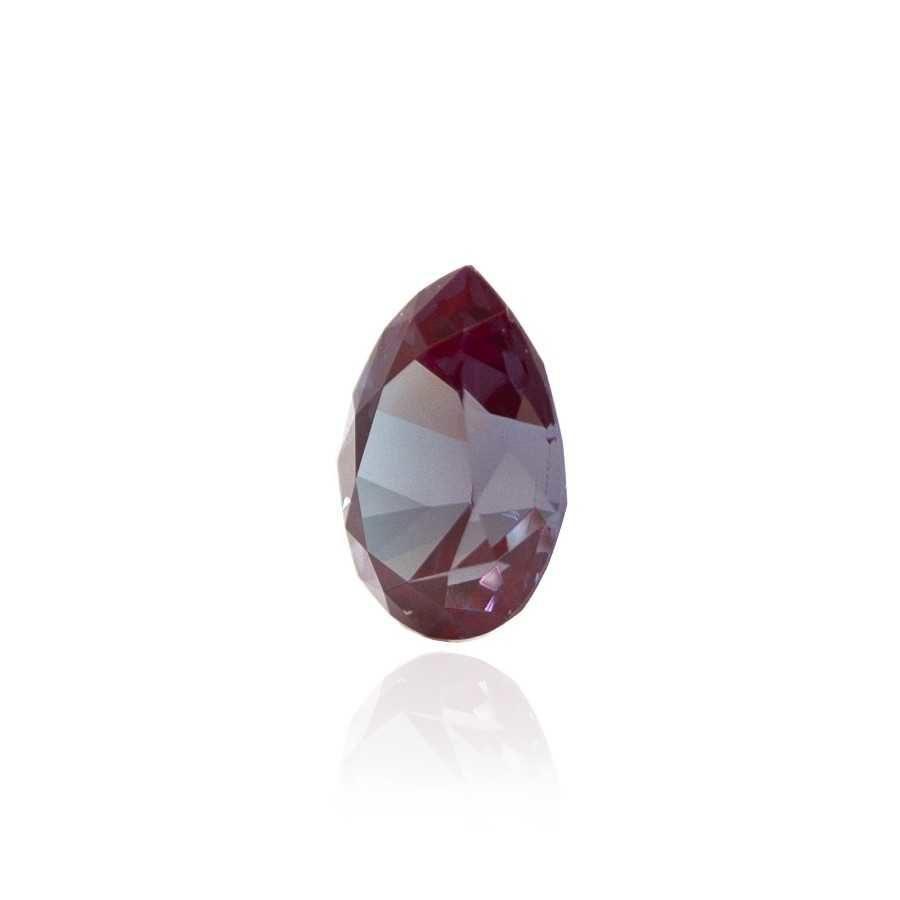 александрит реверс эффект выращенный александрит гидротермальный александрит alexandrite форма камня груша капля огранка бриллиантовая