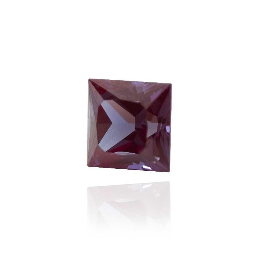 александрит реверс эффект выращенный александрит гидротермальный александрит alexandrite форма камня принцесса каре огранка бриллиантовая