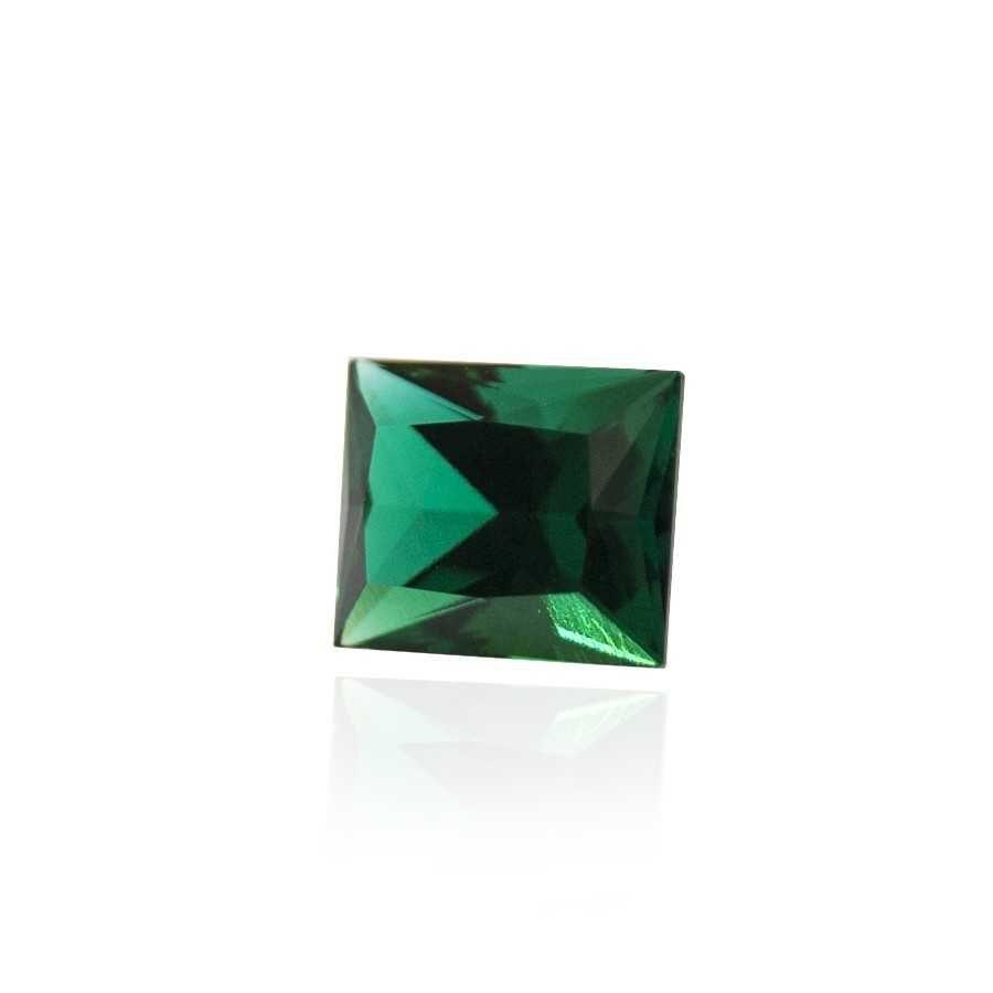 гидротермальный выращенный изумруд hydrothermal emerald замбийский изумруд форма камня багет огранка принцесса