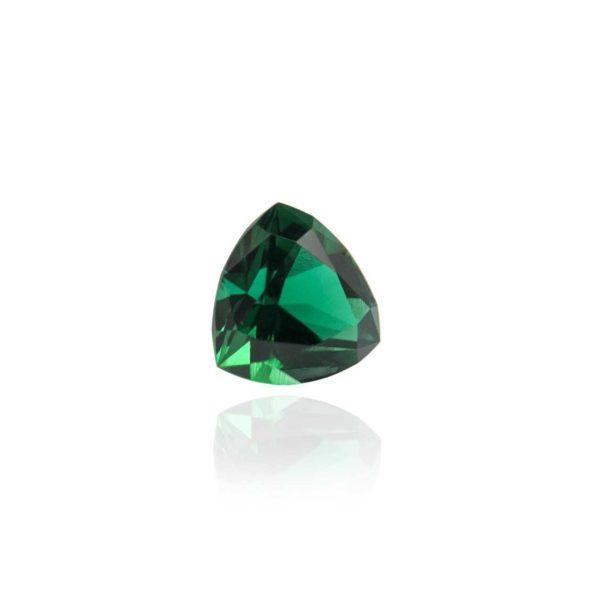 гидротермальный выращенный изумруд hydrothermal emerald замбийский изумруд форма камня триллион