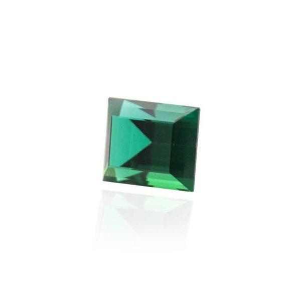гидротермальный выращенный изумруд hydrothermal emerald замбийский изумруд форма камня багет огранка ступенчатая